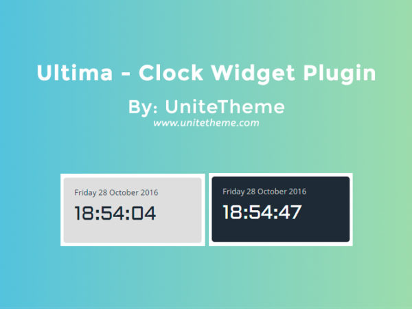 Clock Widget Plugin