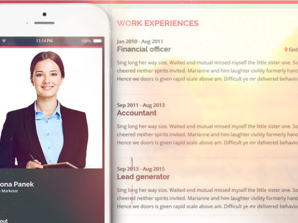 Introduction - Personal Resume Website Template